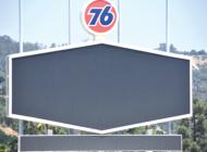 Familiar 76 logo returns to Dodger Stadium