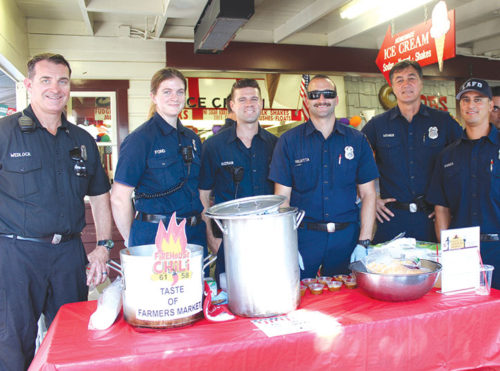 Firefighters from local fire stations will offer samples of their famous chili. (photo courtesy of Steve Rosenthal)