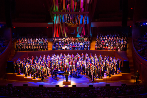The GMCLA's upcoming gala will feature over 500 performers, including members of the New York City Gay Men's Chorus. (photo by Greg Zabilski/courtesy of Gay Men's Chorus of Los Angeles)