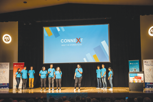 ConneXt's app was the big winner at the IAC Eitanim Summer Hackathon at American Jewish University. (photo courtesy of Linda Kasian Photography)