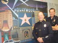 Changing of the guard for LAPD in Hollywood