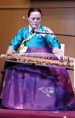 The concert will include Korean music performed on traditional instruments such as the gayageum. (photo courtesy of KCCLA)