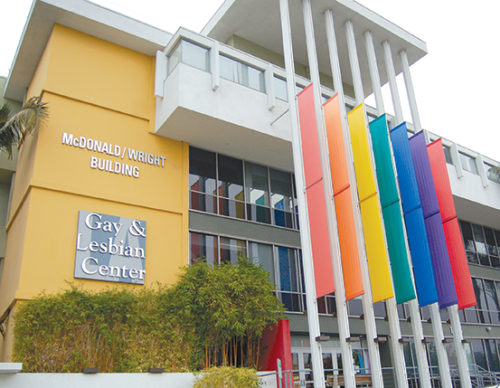 The LA LGBT Center provides health services for LBQ women at its McDonald/Wright building in Hollywood. (photo by Edwin Folven)