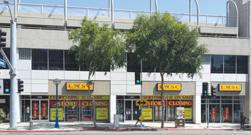 Longtime West Hollywood clothing store LASC is liquidating its inventory and closing. (photo courtesy of LASC)