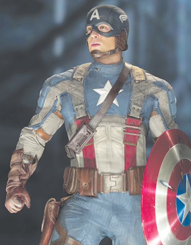 """""""Captain America: The First Avenger"""" has the right amount of patriotic and heartfelt sentiment perfect for the Fourth of July. (photo courtesy of Marvel Studios)"""