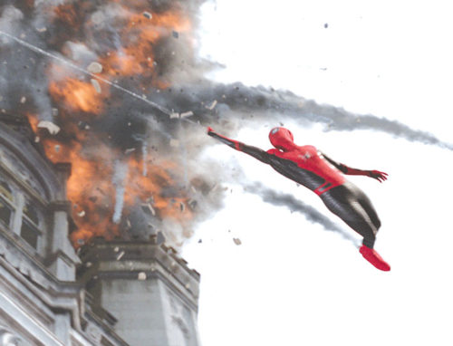 """Spider-Man: Far From Home"" is one of the web-slinger's best films to date. (photo courtesy of Sony Pictures/ ©2019 CTMG)"