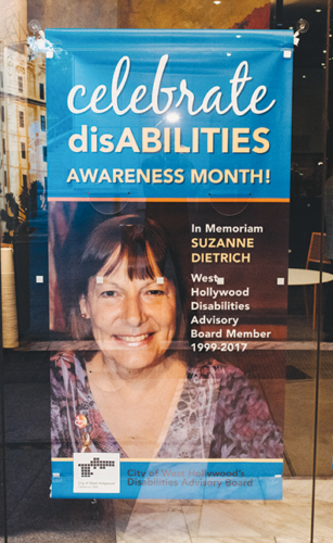 Since 1999, the Disability Service Awards has recognized people and organizations supporting people with disabilities. (photo courtesy of Jonathan Moore, city of West Hollywood)