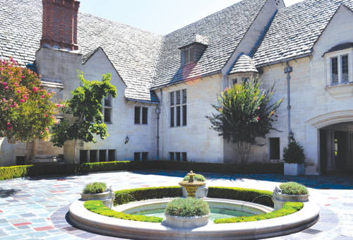 Maintenance of Greystone Mansion's facilities are always ongoing, with several restoration projects in the works. (photo courtesy of the city of Beverly Hills)