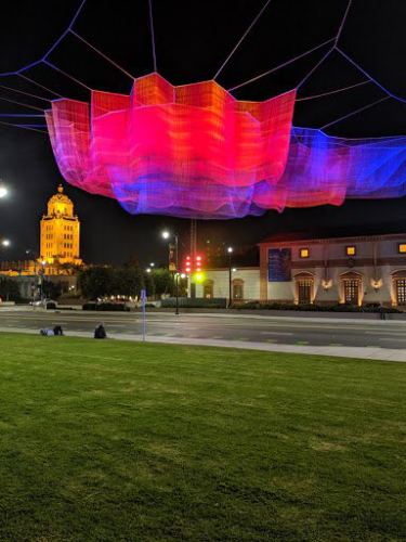 One of artist Janet Echelman's sculptures will be featured at Summer BOLD. (photo courtesy of Lili Bosse)