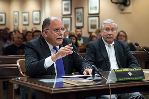 "Assemblyman Jose Medina said the importance behind making AB 331 a two-year bill was to take ""time to ensure we get the curriculum right."" (photo courtesy of the Assembly Democratic Caucus)"