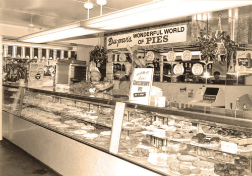 The Farmers Market, corner of Third and Fairfax, is celebrating 85 years. Du-par's has been a member of the Farmers Market family since 1938. (photo courtesy of the Original Farmers Market)
