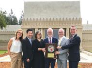 City celebrates Hollyhock House's UNESCO honor