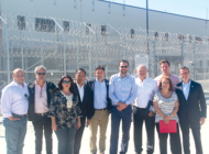 Local lawmakers meet with migrants at border