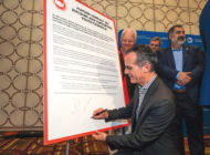 Mayor signs pledge on youth government involvement