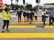 Safety first! Be watchful for kids walking to school
