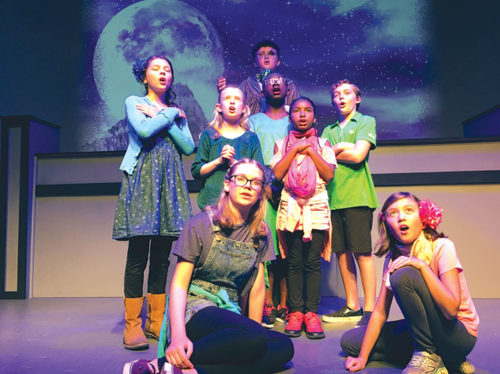 Children will be involved in all stages of creating a play during upcoming fall theater workshops. (photo courtesy of the Santa Monica Playhouse)