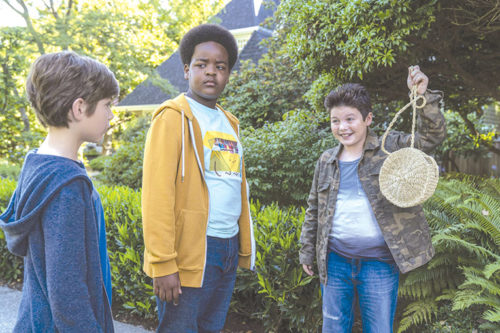 "Max (Jacob Tremblay), Lucas (Keith L. Williams) and Thor (Brady Noon) share many fun moments and adventures in ""Good Boys."" (photo courtesy of Universal Pictures)"