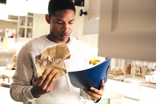 """Kelvin Harrison Jr. shines as the title character in """"Luce."""" (photo courtesy of NEON)"""