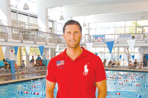 Lenny Krayzelburg is general manager of the LA Current, a professional team competing in the International Swimming League. (photo by Aaron Blevins)