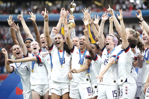 The U.S. women's national soccer team's fight for equal pay to the men's team has encouraged the Los Angeles City Council to seek regulations to close the pay gap. (photo courtesy of Los Angeles City Council President Herb Wesson)