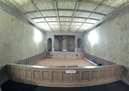 The aging Greystone theater needs extensive renovations and upgrades. (photo courtesy of the city of Beverly Hills)