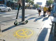 Program pushes e-scooters off sidewalks