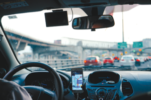Rideshare drivers for companies like Uber and Lyft might be considered employees instead of contractors under Assembly Bill 5. (photo by Dan Gold/courtesy of Unsplash)
