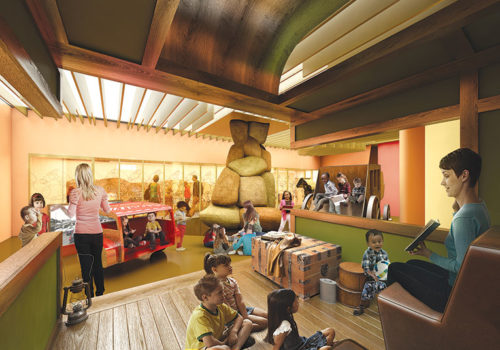 A new family play area is included in future plans for the Autry. (photo courtesy of the Autry)