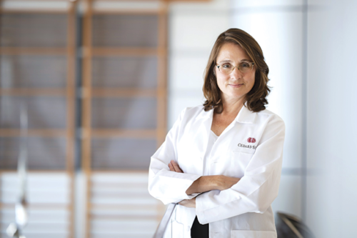 Dr. Christine M. Albert has been named founding chair of the new Department of Cardiology in Cedars-Sinai's Smidt Heart Institute. (photo courtesy of Cedars-Sinai)