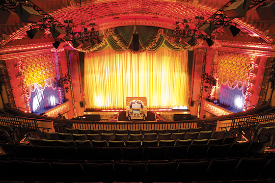 The El Capitan on Hollywood Boulevard hosts most Disney film premieres. (photo courtesy of El Capitan)