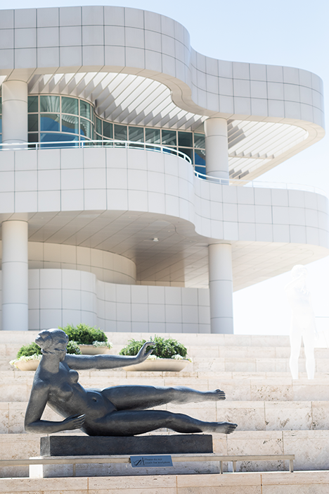 The Getty is well known for both its art and architecture. (photo by Andy Kitchen)