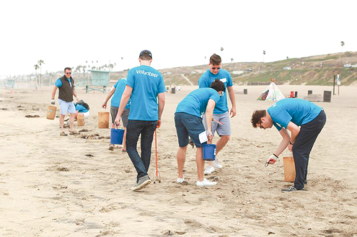 In 2018, approximately 30 tons of trash was removed during the cleanup project. (photo courtesy of Heal the Bay)