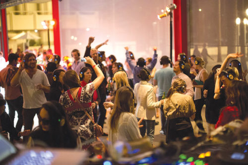 """Dance the night away at LACMA's annual """"Muse 'til Midnight"""" event, which offers after hours fun at the museum. (photo courtesy of LACMA)"""