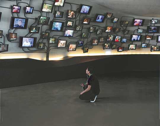 LAMOTH provides free Holocaust education to students and visitors from across Los Angeles, the United States and the world. (photo courtesy of LAMOTH)