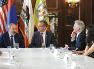 Armenia's Prime Minister Nikol Pashinyan visits L.A.