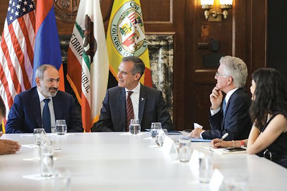 (photo courtesy of Los Angeles Mayor Eric Garcetti's office)