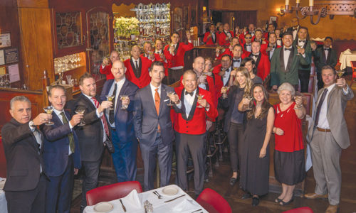 Musso & Frank Grill is celebrating 100 years on Hollywood Boulevard. (photo courtesy of Musso & Frank Grill)