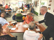O'Farrell meets with seniors in Hollywood