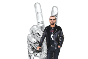 "Ringo Starr's ""Peace and Love"" statue will be on display in Beverly Gardens Park. (photo courtesy of the city of Beverly Hills)"