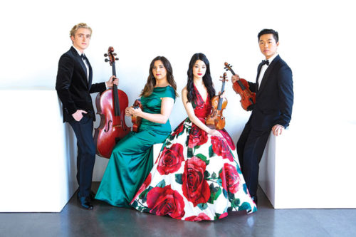 photo courtesy of the Viano String Quartet