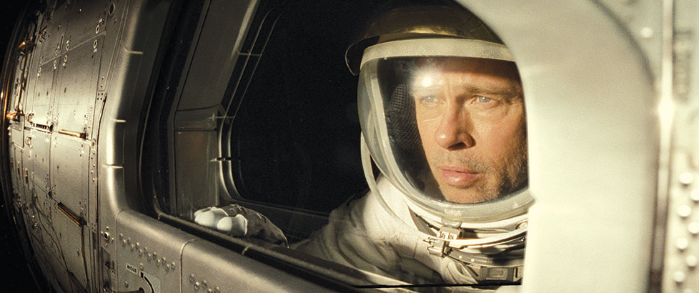 "Brad Pitt stars as Maj. Roy McBride in the space adventure  ""Ad Astra."" (photos courtesy of 20th Century Fox)"