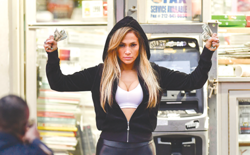 "Jennifer Lopez steals the show as Ramona in ""Hustlers."" (photo courtesy of STXfilms)"