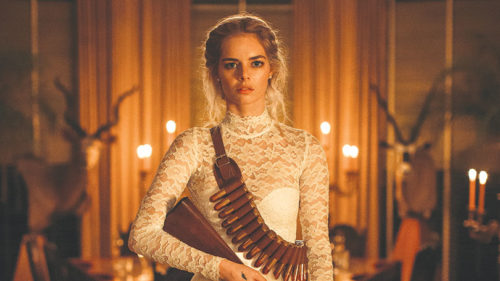 "Samara Weaving stars as Grace in ""Ready or Not,"" a dark comedy about a family with a homicidal tradition. (photo courtesy of Fox Searchlight)"