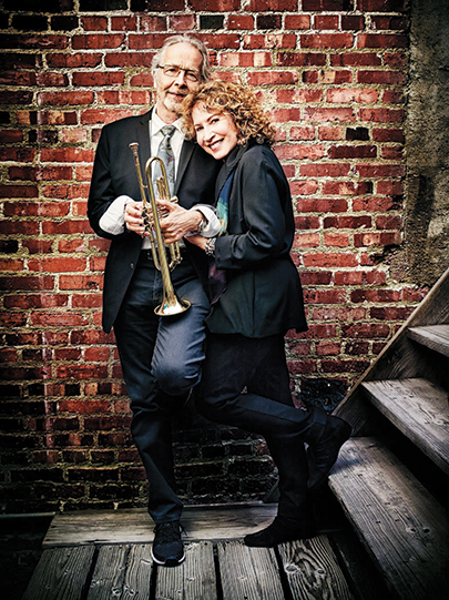 Herb Alpert and his wife, Lani Hall perform at The Wallis on Sept. 21. (photo courtesy of The Wallis)