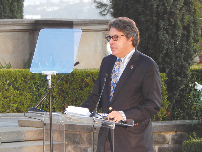 Beverly Hills Mayor John Mirisch (photo by Cameron Kiszla)