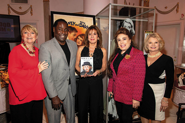 Alison Arngrim, Ernest Hardin Jr., Kathryn Sermak, Donelle Dadigan and Kathy Garver were on hand to honor Bette Davis. (photo by Eugene Powers/courtesy of The Hollywood Museum)