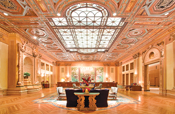 The Millennium Biltmore Hotel Los Angeles combines modern comforts, a storied history and a prime downtown location. (photo courtesy of the Millennium Biltmore)