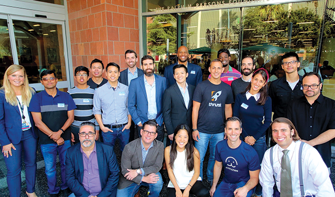 """Teams participated in CHLA's """"Digital Health Lab Demo Day"""" for a shot at improving pediatric care, grant money and the chance to pilot their projects at the hospital. (photo courtesy of Children's Hospital Los Angeles)"""
