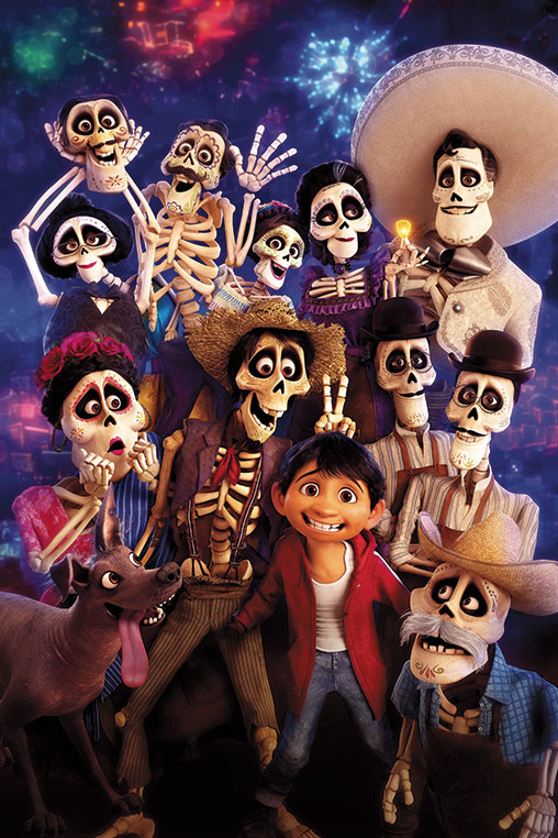 "Disney's movie ""Coco"" portrayed a whimsical story about Dia de los Muertos. (photo courtesy of Disney Pixar)"