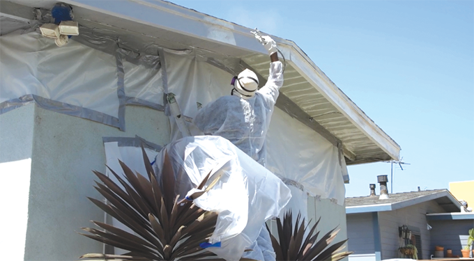 Los Angeles County will use funds from a settlement with paint manufacturers to remove lead paint from up to 5,000 homes. (photo courtesy of L.A. County Supervisor Janice Hahn's office)